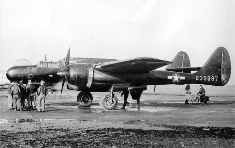 P-61 Black Widow 42-39397 ETO