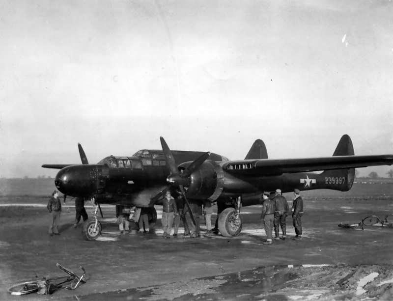 P-61 Black Widow 42-39397 ETO 2
