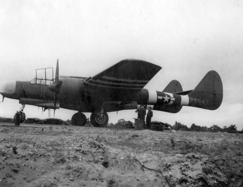 P-61 Black Widow 42-5547 of the 422nd Night Fighter Squadron