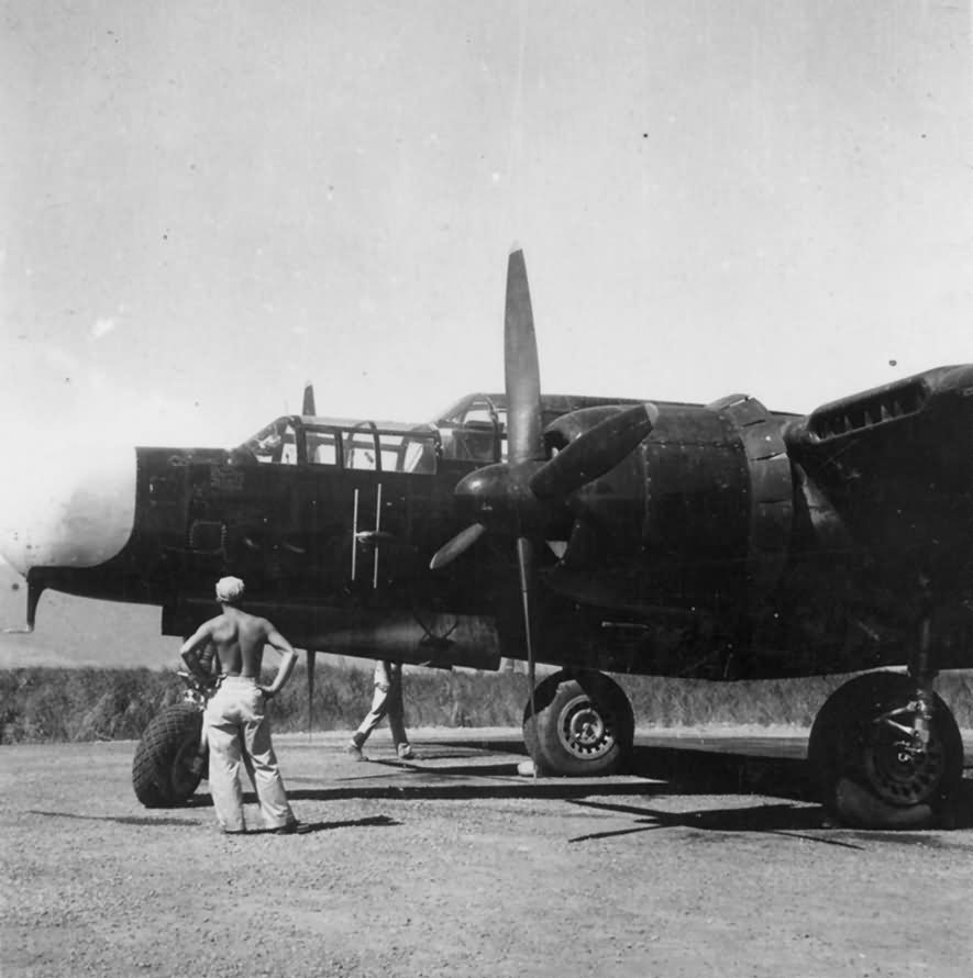 61 black widow night fighter world war photos