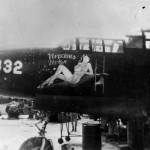"P-61 Black Widow #332 ""Vivacious Vivian"" of the 550th Night Fighter Squadron"