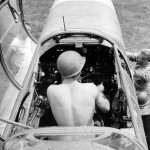 cockpit of a P-61 Black Widow
