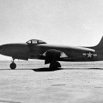 "Jet fighter XP-80A 44-83021 ""Gray Ghost"""