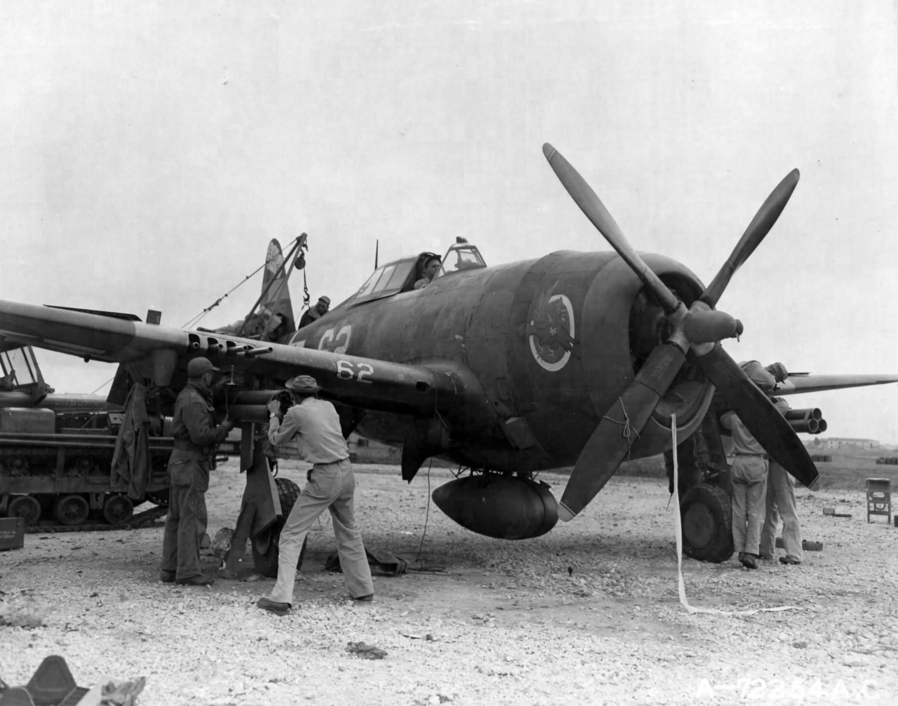 P 47 Thunderbolt From 65th Fighter Squadron 57th Group Italy
