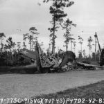 Crashed P-47 Thunderbolt 42-8311 1943