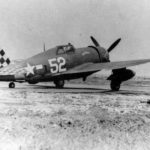 P-47 Thunderbolt white 52 of the 325th Fighter Group, 318th FS