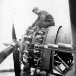 P-47 Thunderbolt engine – Burtonwood Airfield England