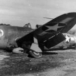 "Crashed P-47 Thunderbolt QP-N 42-7919 ""Lilliput"" of the 334th FS, 4th FG"