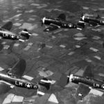P-47 Thunderbolts formation 56th FG
