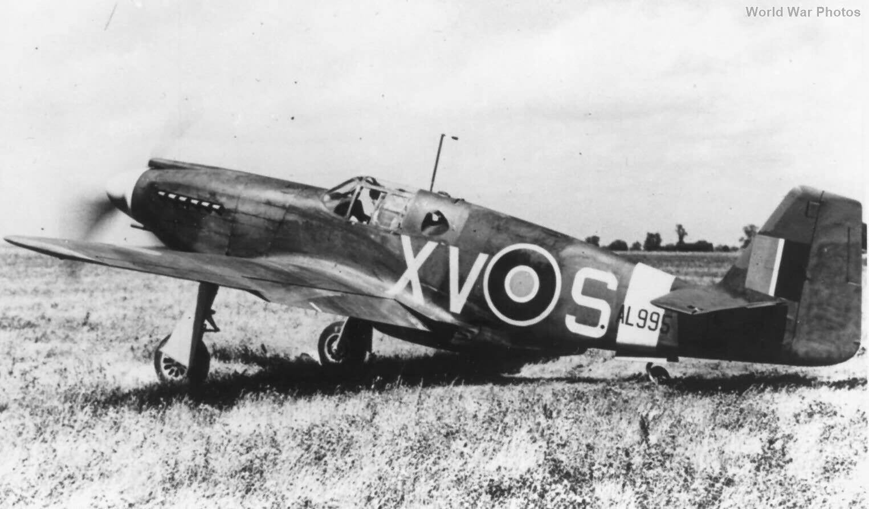 Mustang I AL995 XV-S of No. 2 Squadron RAF