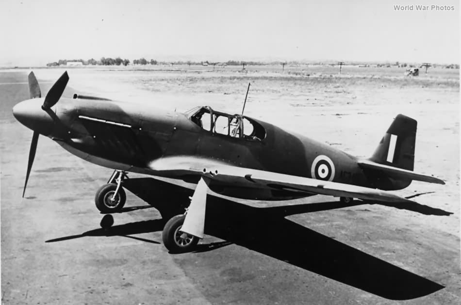 Mustang Mk I AG346