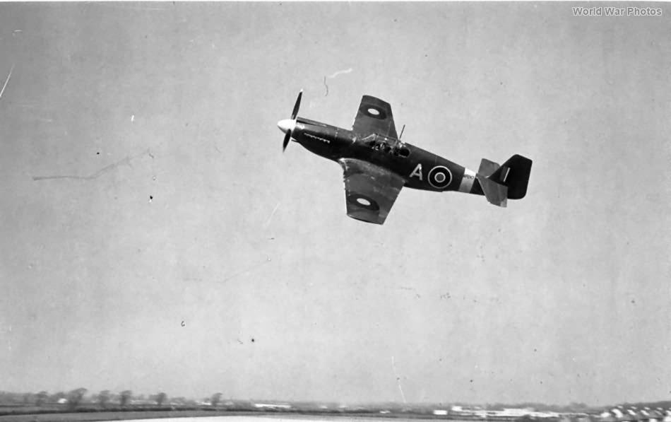 Mustang Mk I AP247 4 Sqn RAF