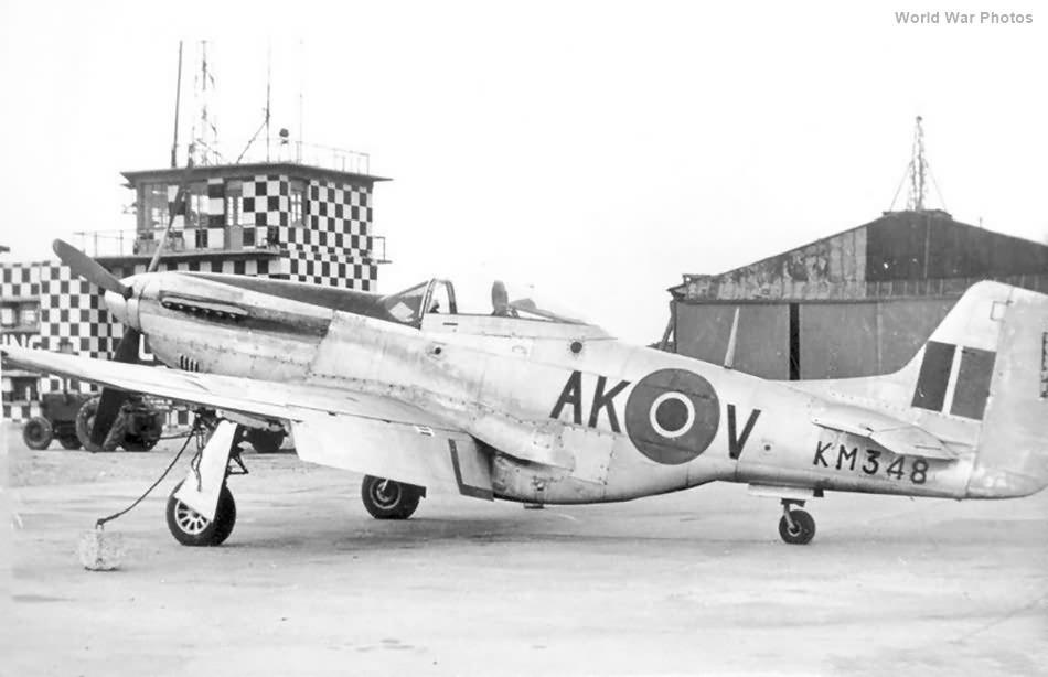 P-51 KM348 AK-V