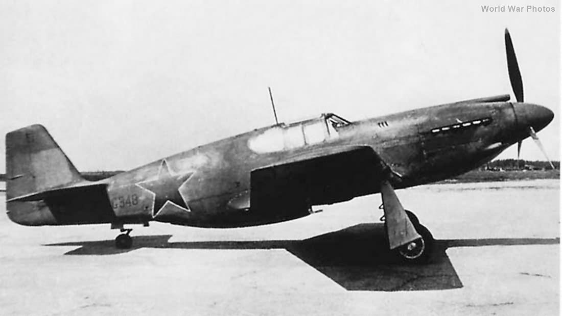 Soviet P-51 AG348