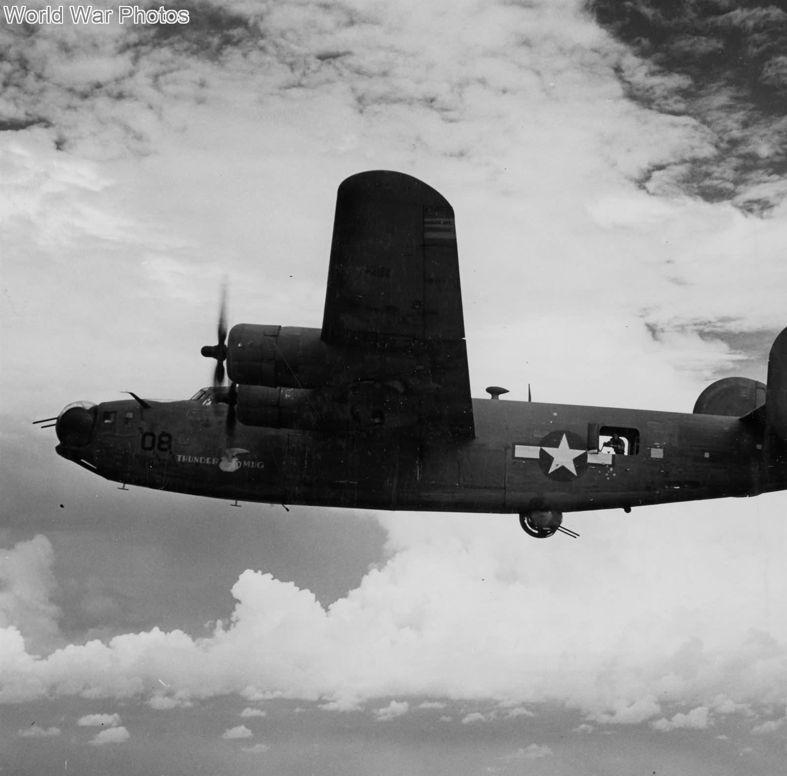 PB4Y-1 Thunder mug over Kwajalein Atoll June 1944 | World