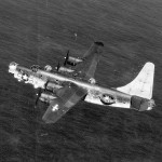 Consolidated PB4Y-2 E56 Over Ocean