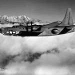 Consolidated PB4Y-2 Privateer D67 in flight