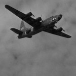 Consolidated PB4Y2 Privateer 587 in flight during World War II