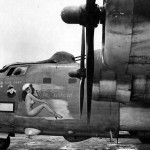 PB4Y-2 of VPB 106 – The Super Chief nose art, Palawan