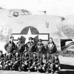 US Navy crew and PB4Y-2 Privateer 678