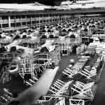 Martin PBM-3 Mariner flying boats on final assembly line
