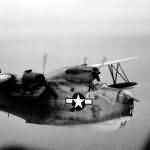 Martin PBM-5 Mariner code E10 from VPB-27 Patrols off Okinawa 1945