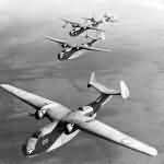 PBM-1Mariner formation in flight