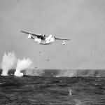 PBM-3S Mariner dropping a depth charges