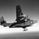 PBM-3 Mariner code C-10 in flight during 1942-1943