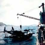 Black PBM-5 Mariner code J2 of the VPB-26 Okinawa