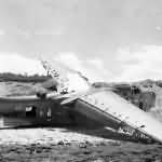 Destroyed PBM Mariner code E4 Okinawa