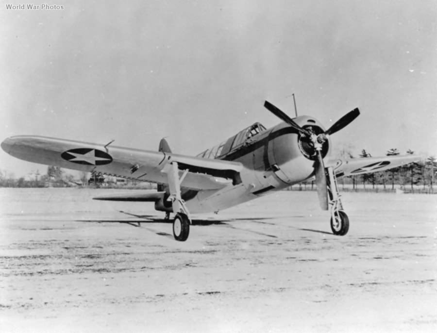 Brewster SB2A-2 2