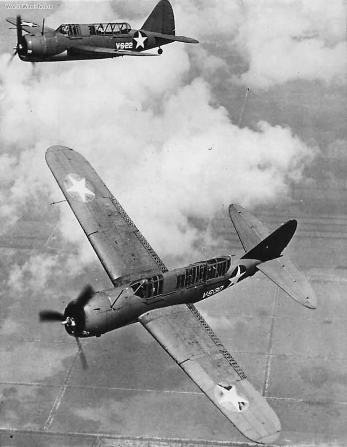 Brewster SB2A-4 1943