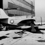SB2C on the ground probably at the Curtiss Wright factory in Buffalo 11jan43