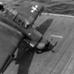 SB2C 3 USS Ticonderoga 1944