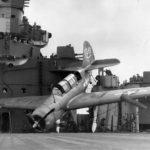 SB2C USS Ticonderoga January 1945