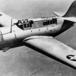 XSB2C 1 1758 in flight