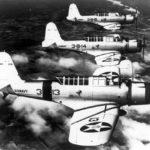 Vought SB2U-1 Vindicators of the VB-3