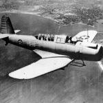 Vought SB2U-3 Vindicator 1-S-16 of the VS-1