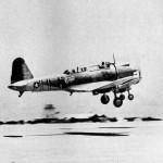 SB2U Vindicator of the Marine VMSB-241 Midway 1942