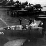 SB2U Vindicators of VS-42 VS-41 aboard USS Ranger November 1941