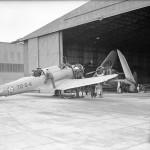 SB2U Vindicator code 72-S-4 of VS-72 England April 1942