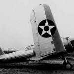XSB2U-1 Vindicator prototype with wings folded on January 2 1936