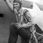 Marine radio gunner Richard Payne by SBD 43