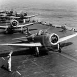 SBD 3 VB 6 Wake Island Raid, 24 February 1942