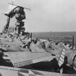 SBD 3 on flight deck of USS Lexington