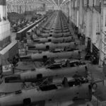 SBD 4 assembly line at the Douglas