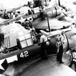 SBD 5 VB 16 on USS Lexington sep43