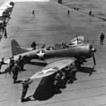 SBD B-11 during Battle of Midway