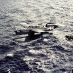 Curtiss SO3C-3 Seamew being catapulted from USS Biloxi CL-80 – October 1943 2